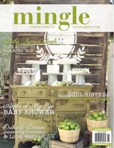 Biscuits & Tea Celebration published in Mingle Magazine Spring 2014 Issue