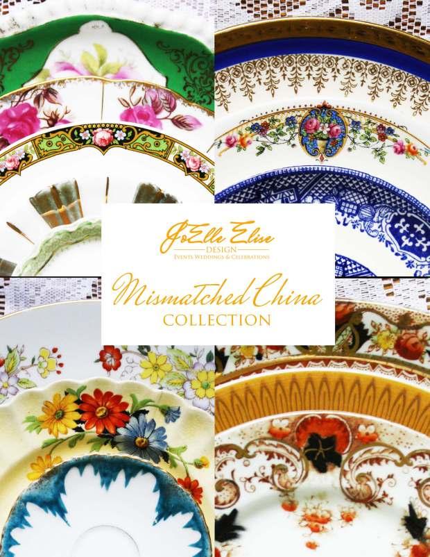 JoElle Elise Design Mismatched China Catalog - Cover